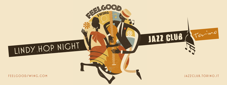 VEN 29/9 – Lindy Hop Night//Damn Swing//Jazz Club Torino