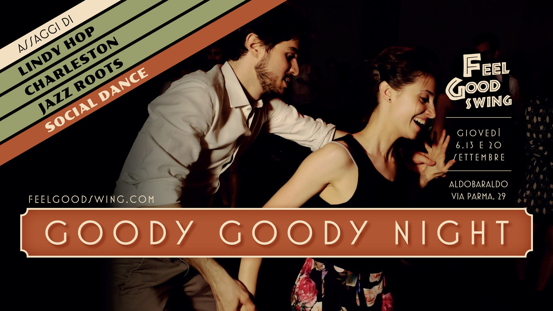 Googdy Goody Night - Social Dance Lindy Hop