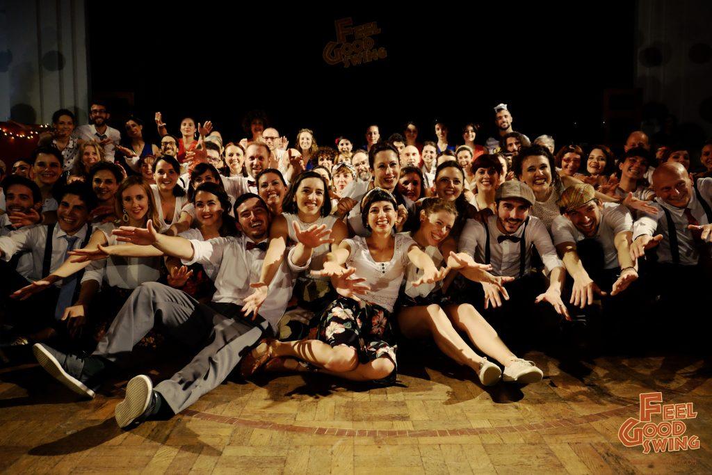 Finalissima 2018, saggio di Lindy Hop e Charleston - Foto di Salvatore Chianetta