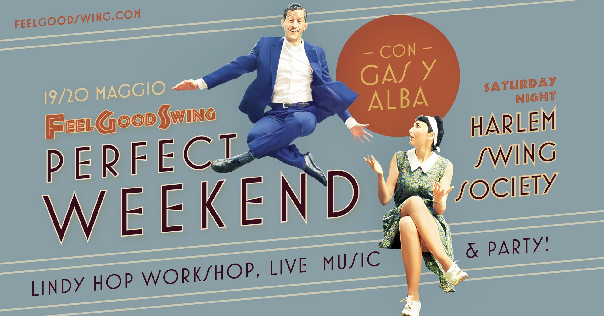 Workshop di Lindy Hop con Gas e Alba