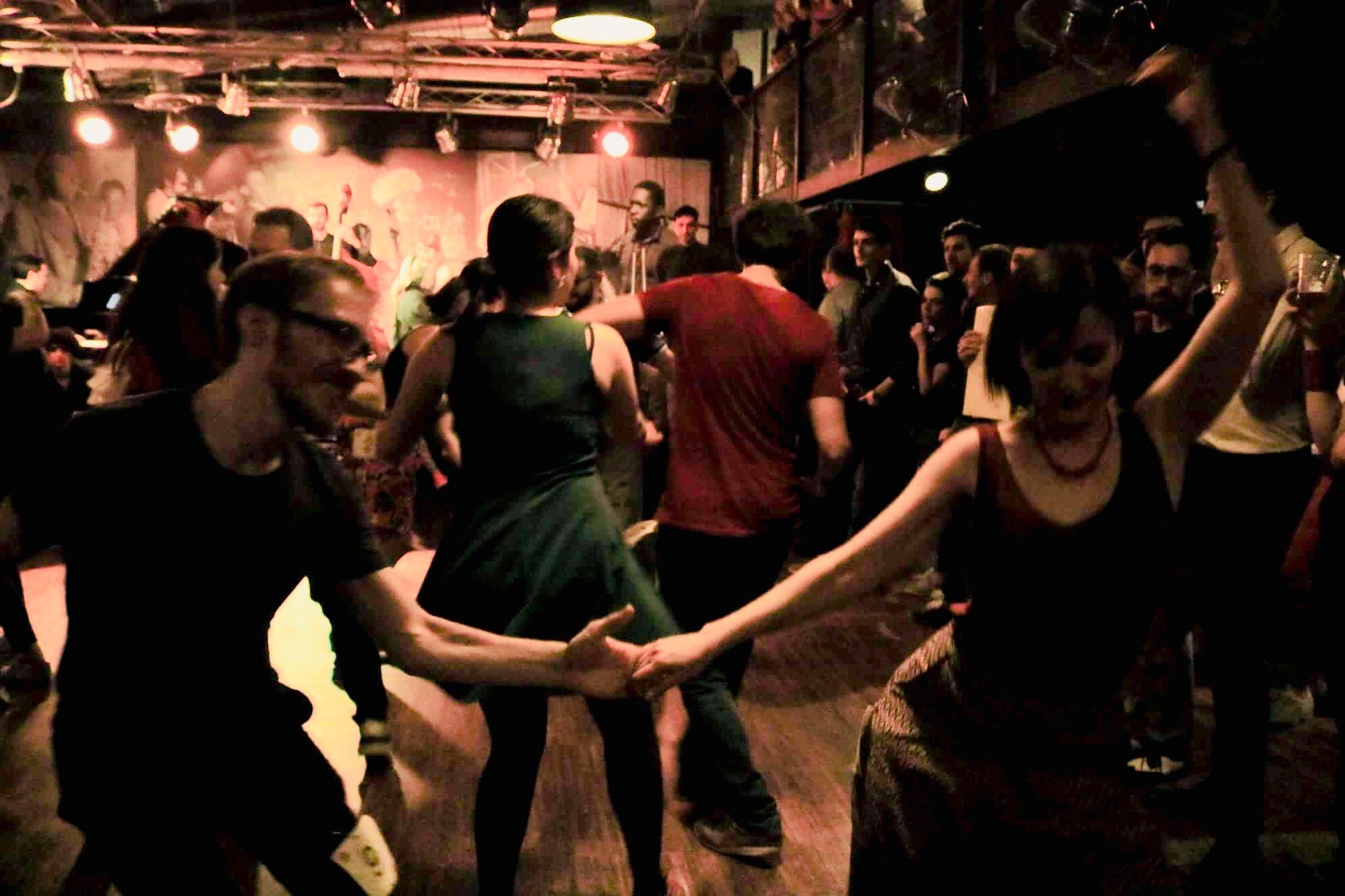 Social dance al Jazz Club