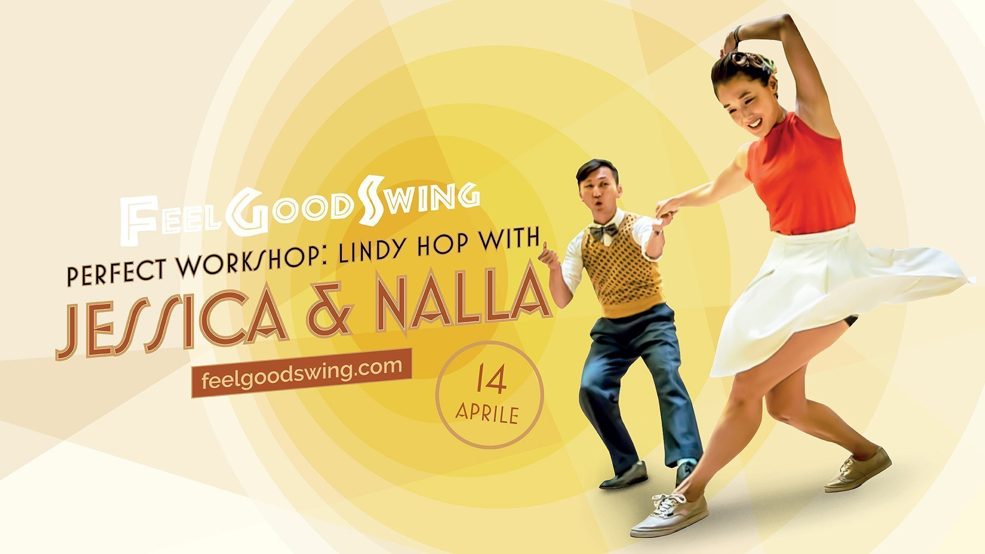 Lindy Hop Workshop - Jessica e Nalla dalla Corea