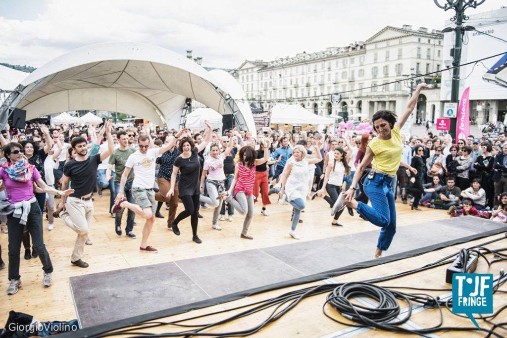Torino Jazz Festival 2016 - Lezione a Piazza Vittorio